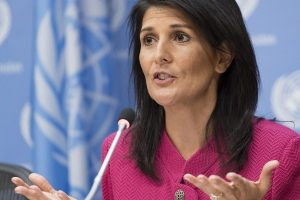 US envoy to UN Nikki Haley reaching New Delhi on three-day visit