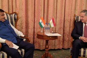 India, Tajikistan agree on cooperation in sustainable water development