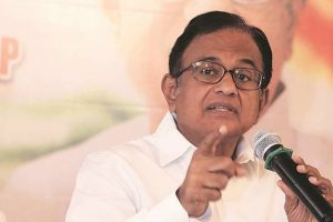 Chidambaram takes dig at govt over slide in industrial production growth