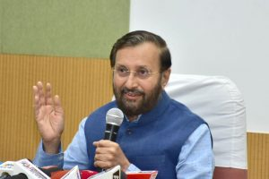 'Will take tuition from you': HRD Minister Prakash Javadekar to Professor Saugata Roy