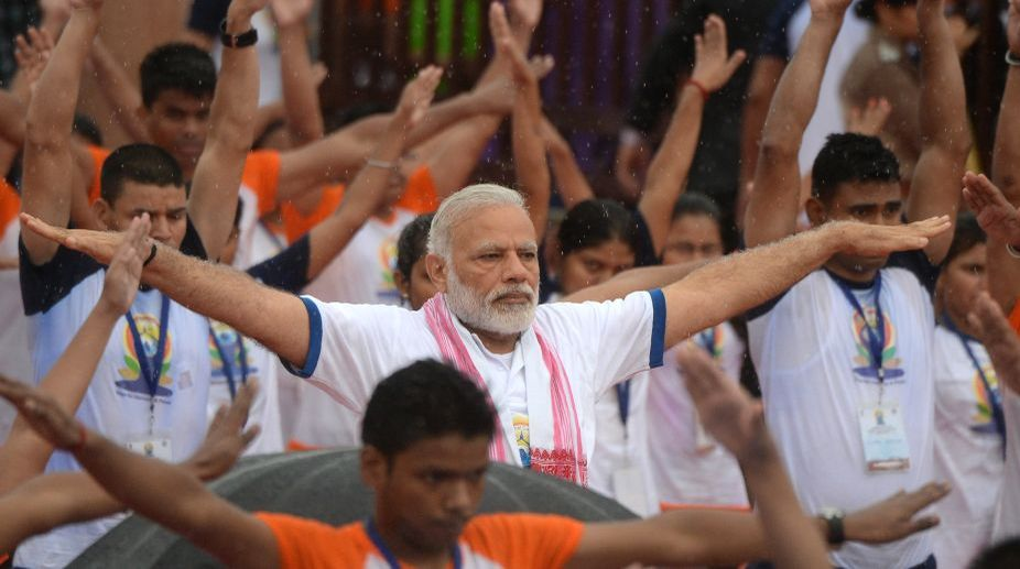 Yoga, Prime Minister, Narendra Modi, International Yoga Day