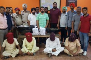 Punjab Police bust international drug racket, 4 arrested
