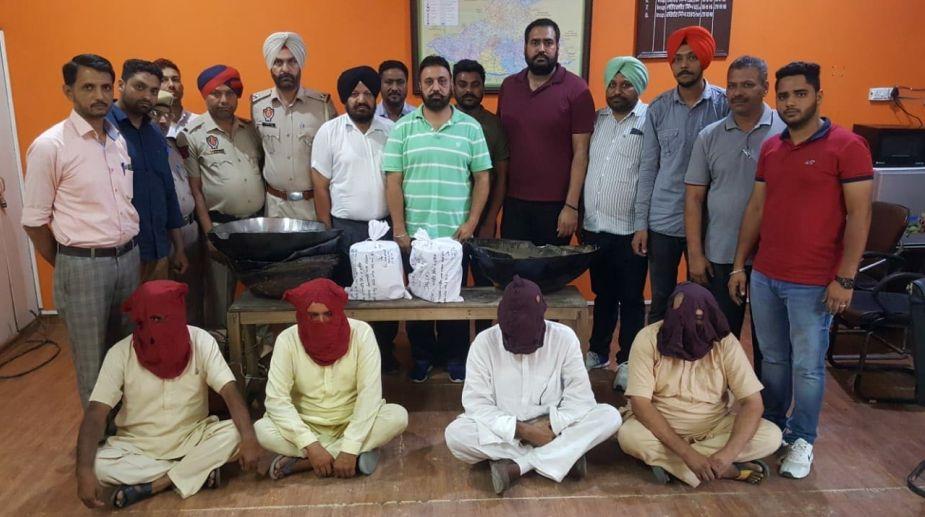 Punjab Police, drug racket, smuggling, opium, ketamine, Canada