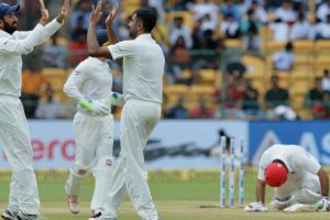 IND vs AFG, one-off Test, 2nd day: Afghanistan bowled out for 109, trail by 365 run