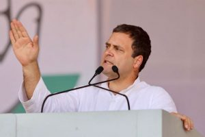 Rahul Gandhi indicates Karnataka budget to waive farm loans