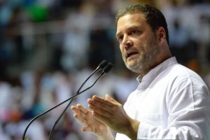 Rahul Gandhi accuses PM Modi of ignoring poor, helping rich