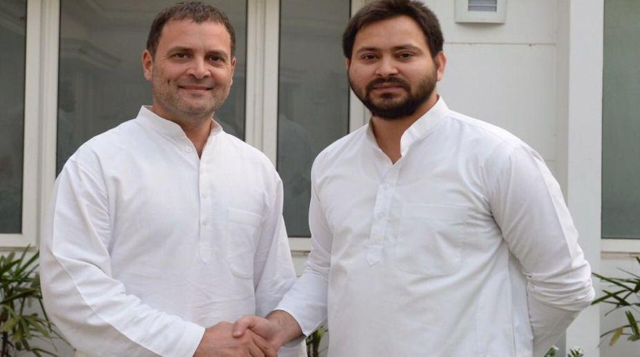 Rahul Gandhi, RJD, Tejashwi Yadav