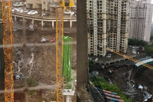 Mumbai rains throw life out of gear; 15 cars buried as complex wall collapses