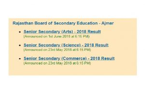 Rajasthan Board Class 12 arts results 2018 declared at rajeduboard.rajasthan.gov.in or rajresults.nic.in | Check RBSE results now