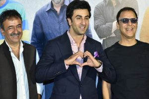 Once Vidhu Vinod Chopra didn't agree with Hirani over Ranbir Kapoor playing Sanju