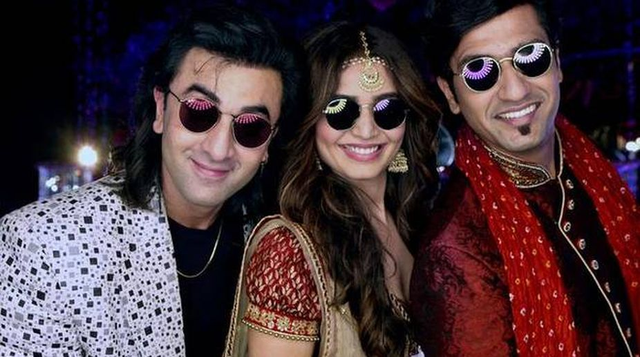 Ranbir Kapoor, Vicky Kaushal, Karishma Tanna