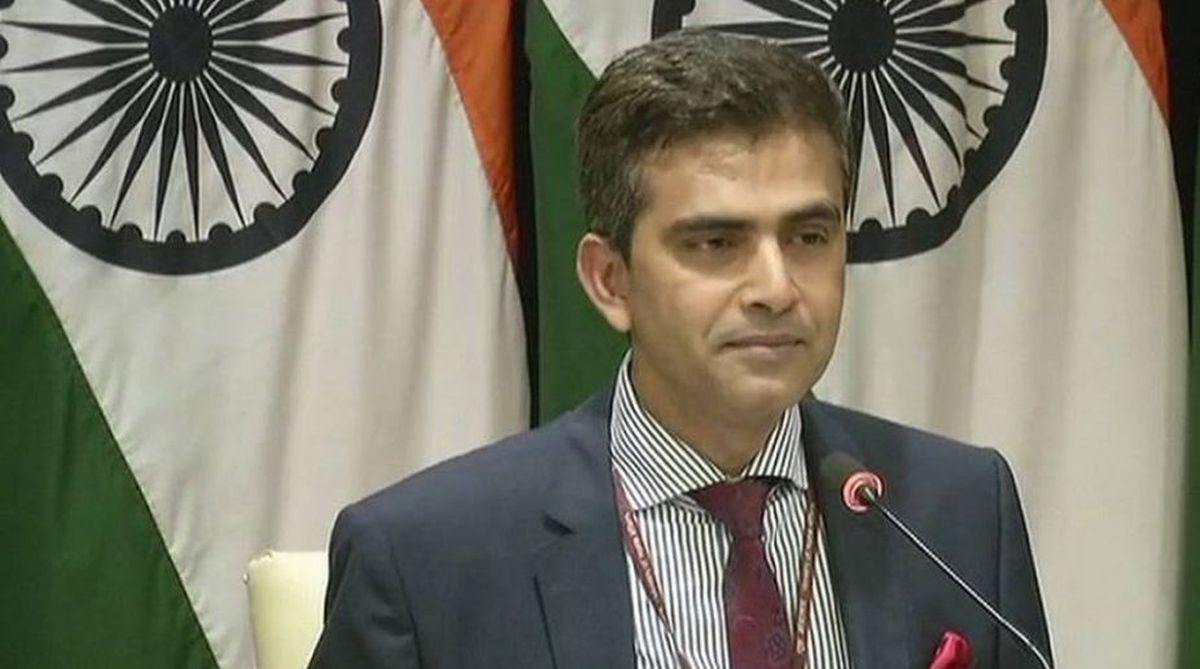 Kartarpur Sahib, India-Pakistan, Raveesh Kumar, External Affairs Ministry, Navjot Singh Sidhu