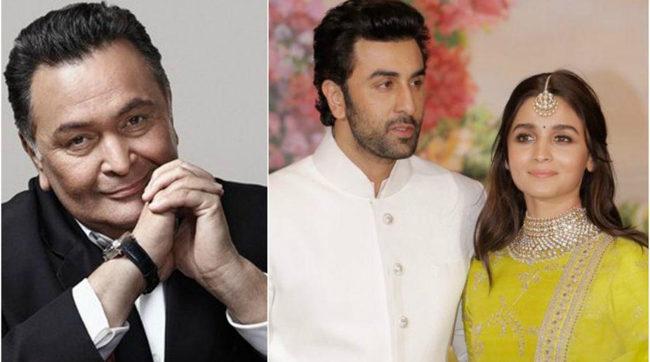Rishi Kapoor, Ranbir Kapoor, Alia Bhatt