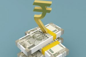Equity indices end in red as rupee slumps to all-time low