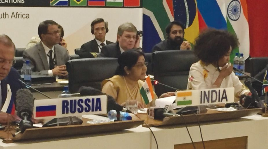 BRICS, Sushma Swaraj, security forum, counter-terrorism