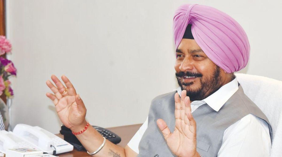 Punjab Forest minister Sadhu Singh Dharamsot.