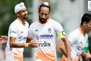 Hockey India congratulates Sardar Singh on completing 300 International Caps for India
