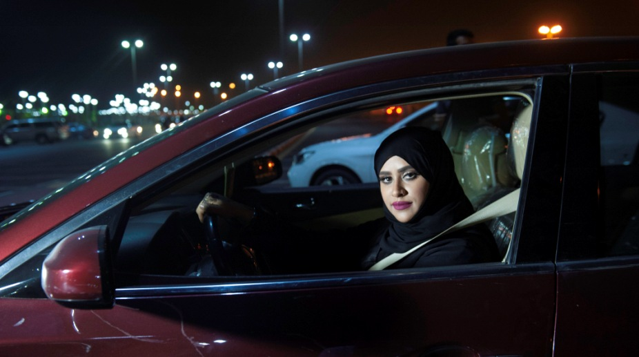In Photos: Saudi Arabian women driving cars for the first time