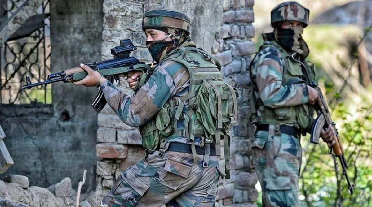 terrorists killed, security forces, Kashmir, Tangdhar encounter