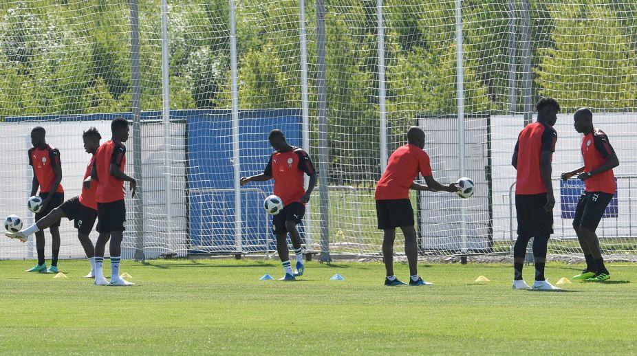2ba3fde7c  Racist  tweet could inspire Senegal in World Cup showdown. AFP