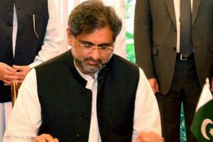 Pakistan's EC allows Shahid Khaqan Abbasi to contest elections
