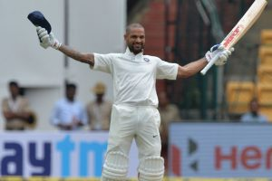 IND vs AFG, 1st Day: India 158 for 0 in 27 overs at lunch break