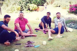 India vs Ireland: Virat Kohli, Shikha Dhawan  'chilling' in 'sunny' Dublin; see pics