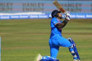Rohit Sharma, Shikhar Dhawan propel India to 208/5 vs Ireland