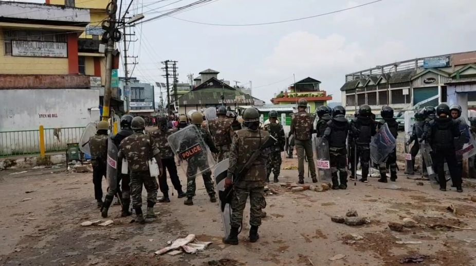 Shillong violence, Northeastern India, Meghalaya,