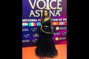 Meerut girl Shreya Sharma sings in finals of Voice of Astana music contest
