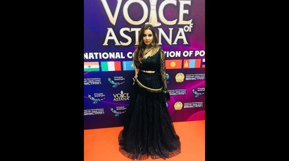 Shreya Sharma, Voice of Astana