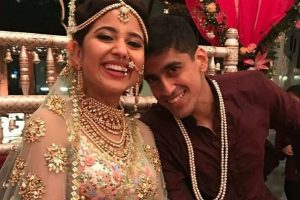 Shweta Tripathi and Chaitnya Sharma tie the knot at an intimate affair | See pictures