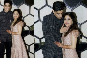In Pictures: Pre-wedding bash of Shweta Tripathi and Chaitanya Sharma