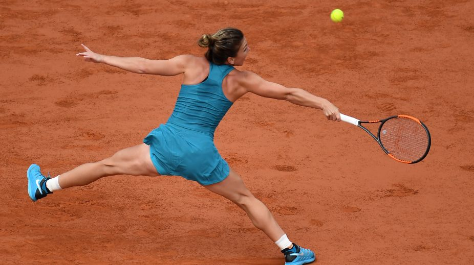 French open 2018| In Pictures: Simona Halep in action