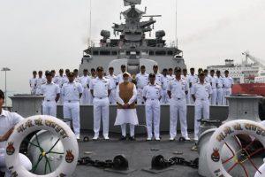 PM Modi visits Singapore's Changi Naval Base, boards INS Satpura