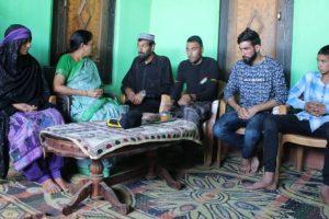 Nirmala Sitharaman meets Rifleman Aurangzeb's family in Poonch
