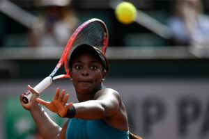 French Open 2018: Sloane Stephens smiling through pain barrier