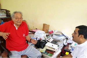 Sampark for Samarthan | Actor Soumitra Chatterjee reminds BJP of note ban