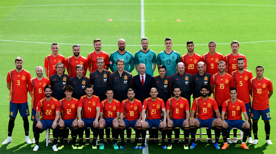 Spain Football, 2018 FIFA World Cup, FIFA World Cup 2018