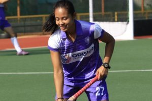 Hockey India congratulates Sushila Chanu Pukhrambam on completing 150 International Caps