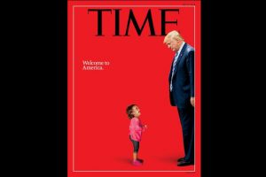 TIME Magazine's 'Welcome to America' cover snubs Trump's muscular policy