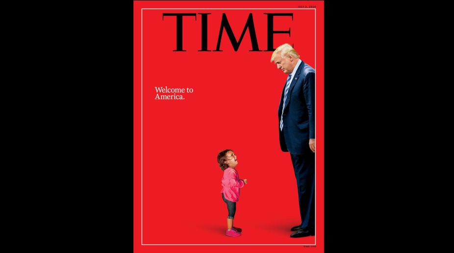 TIME Magazine cover, Donald Trump, United States of America, Immigration