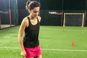 Watch how Taapsee Pannu got into the character for Soorma