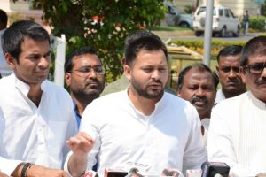 Tejashwi Yadav mocks Sushil Modi over crime in Bihar
