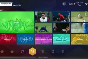 Thomson rolls out 'My Wall' UI on its smart TVs