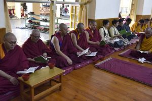 Tibetans starts prayer service for Dalai Lama's health