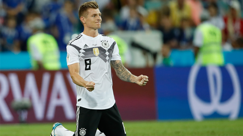 Toni Kroos, Germany Football, 2018 FIFA World Cup, FIFA World Cup 2018, Germany vs Sweden