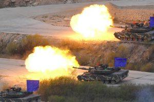 South Korea, US suspend major military exercise