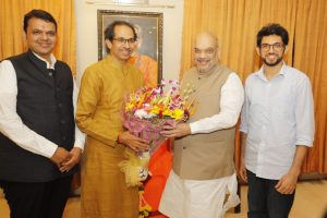 Sampark for Samarthan | Amit Shah meeting with Uddhav Thackeray positive: BJP