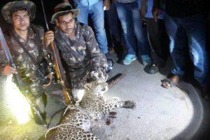 Hunter-teacher silences man-eater leopard, this was his 50th such kill